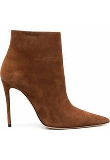 Casadei Ankle Boot Malleolo - Marrom