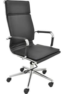 Cadeira Alta Oficce Valencia -Rivatti - Preto