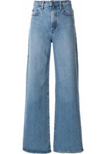 Nobody Denim Calça Jeans Pantalona Milla - Azul