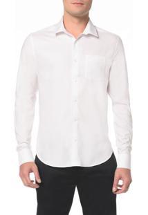 Camisa Regular Geneva Simples Bolso - 1