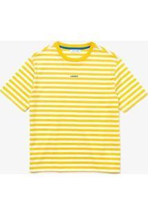 Camiseta Lacoste Jérsei - Feminino