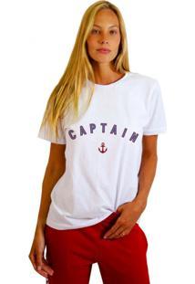 Camiseta Basica Joss Captain Branco