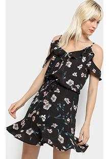 48ee166bef Vestido Floral Moderno feminino