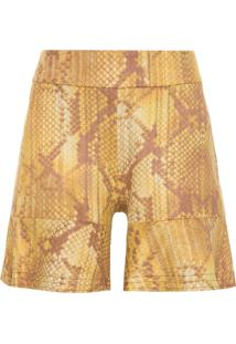 Shorts Feminino Snake - Animal Print