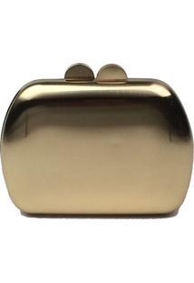 Bolsa Clutch La Borsa Clutch Dourada