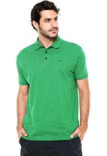 Camisa Polo Ellus Bordado Verde