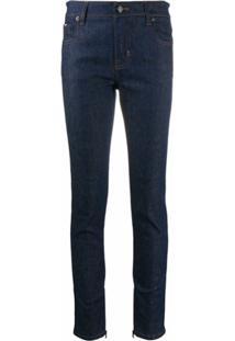 Tom Ford Calça Jeans Skinny Cintura Média - Azul