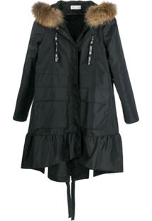Red Valentino Parka Love You - Preto