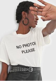 Camiseta John John No Photos Off-White