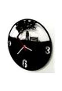 Relógio De Parede Decorativo - Modelo Casal Romântico