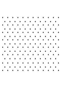 Adesivo De Parede Gotinhas Pretas Para Quarto 151Un Cobre 3M2