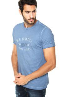 Camiseta Tommy Hilfiger New York Azul