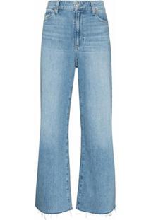 Paige Calça Jeans Reta Anessa - Azul
