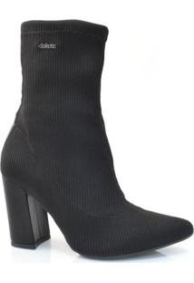 Ankle Boots Meia De Salto Alto Dakota