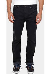 Calça Skinny Lacoste Indigo Color Masculina - Masculino-Preto