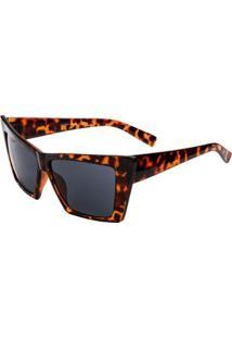 Óculos Rayflector Vtg583 Co (Preto) - Feminino-Onça+Preto