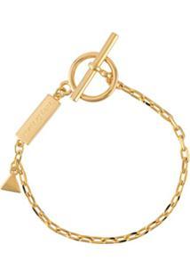 Coup De Coeur Pulseira Com Logo - Dourado