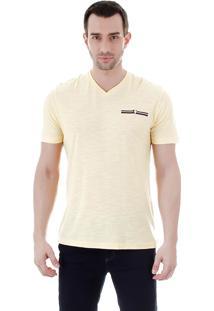 Camiseta Masculina Ocean Bay - Amarelo