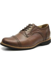 Sapato Oxford Shoes Grand Gigante - Masculino-Marrom