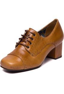 Sapato Mzq Oxford - 7305 Tamarindo/Chocolate