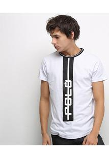 Camiseta Polo Rg 518 Swag Masculina - Masculino-Branco