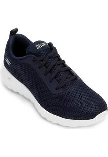 4986dae8c8f ... Tênis Skechers Go Walk Joy Paradise Feminino - Feminino-Azul+Branco