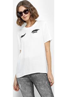 Camiseta Colcci feminina  f545ea303d803