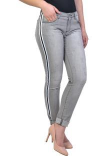 bbd42ae12 ... Calça Jeans Yck'S Black Super Skinny Cinza