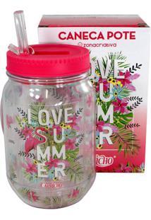 Caneca Pote Love Summer - Zona Criativa