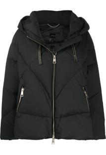 Liu Jo Hooded Puffer Jacket - Preto