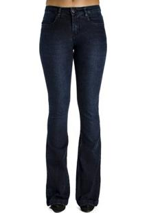 Calça Jeans Básica Flare Calvin Klein Feminina - Feminino-Jeans