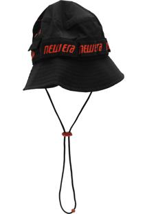 Chapéu New Era Bucket Adventure Utilitat Preto