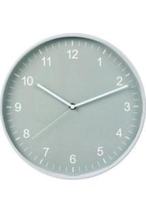 Relógio De Parede Verde Aqua Coisas E Coisinhas