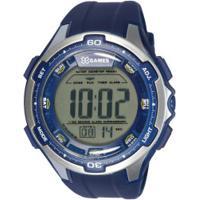 ae4331015de Relógio Digital X Games Xmppd465 - Masculino - Azul Branco