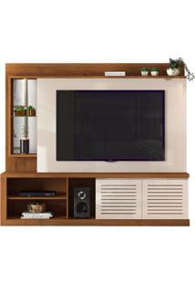 Home Domus Para Tv De Até 70' - Rústico Terrara Com Offwhite