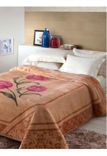 Cobertor Casal Jolitex Caramelo