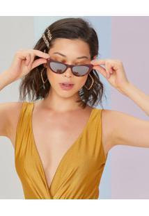 Óculos De Sol Acetato Gatinho