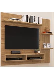 Painel Para Tv Até 50 Polegadas Com Nichos Ps16 Naturalle - Decibal Móveis