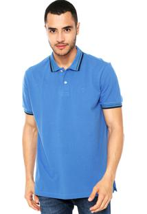 Camisa Polo Richards Lisa Azul