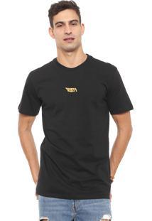 Camiseta Rusty Shiner Preta