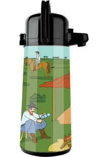 Garrafa Térmica Air Pot 1,8 Litros Decoração Querência - Invicta