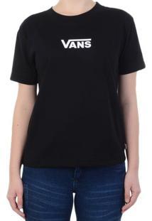 Camiseta Vans Airborne Black - Preto / P