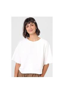 Blusa Hering Ampla Off-White
