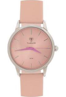 Relógio Feminino Tuguir Analógico - Feminino-Rosa