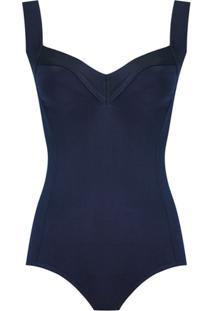 Magrella Body 'Basic Mari' De Tricô - Azul
