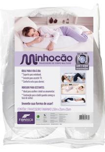 Capa Para Travesseiro Minhocão BrancoFibrasca 150X21Cm