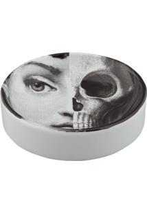 Fornasetti Prato Skull - Cinza