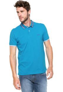 Camisa Polo Triton New Azul