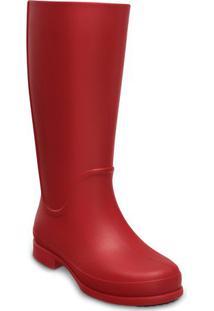 Galocha Wellie Rain Boot- Vermelhacrocs