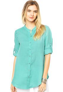 Camisa Mooncity Lisa Verde